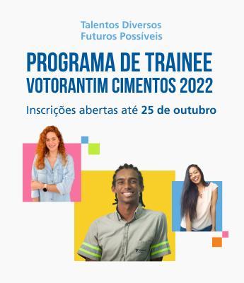 Inscrições para Programa de Trainee 2022 da Votorantim Cimentos encerram segunda (25/10)