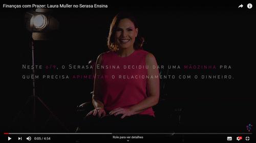 Serasa Consumidor e Laura Muller se unem em vídeo provocante sobre educação financeira