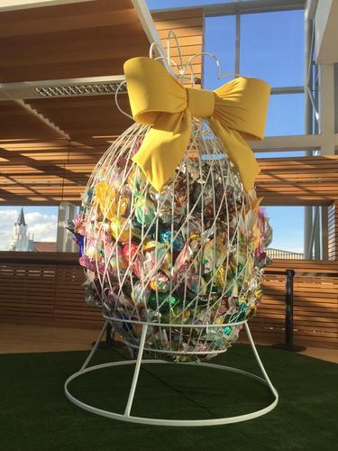 Quer ganhar R$ 500 em chocolate? Shopping São José premia quem acertar quantidade de ovos dentro de ovo grande
