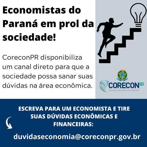 CORECONPR LANÇA CANAL PARA SANAR DÚVIDAS DA POPULAÇÃO EM MEIO A CRISE DO CORONAVÍRUS
