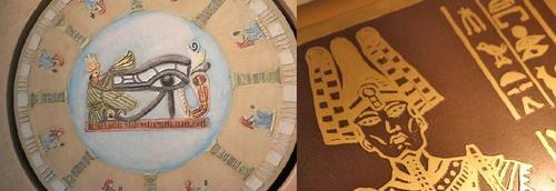 Exposição Origens – Marajoaras e Egípcios – Barro, metal e areia